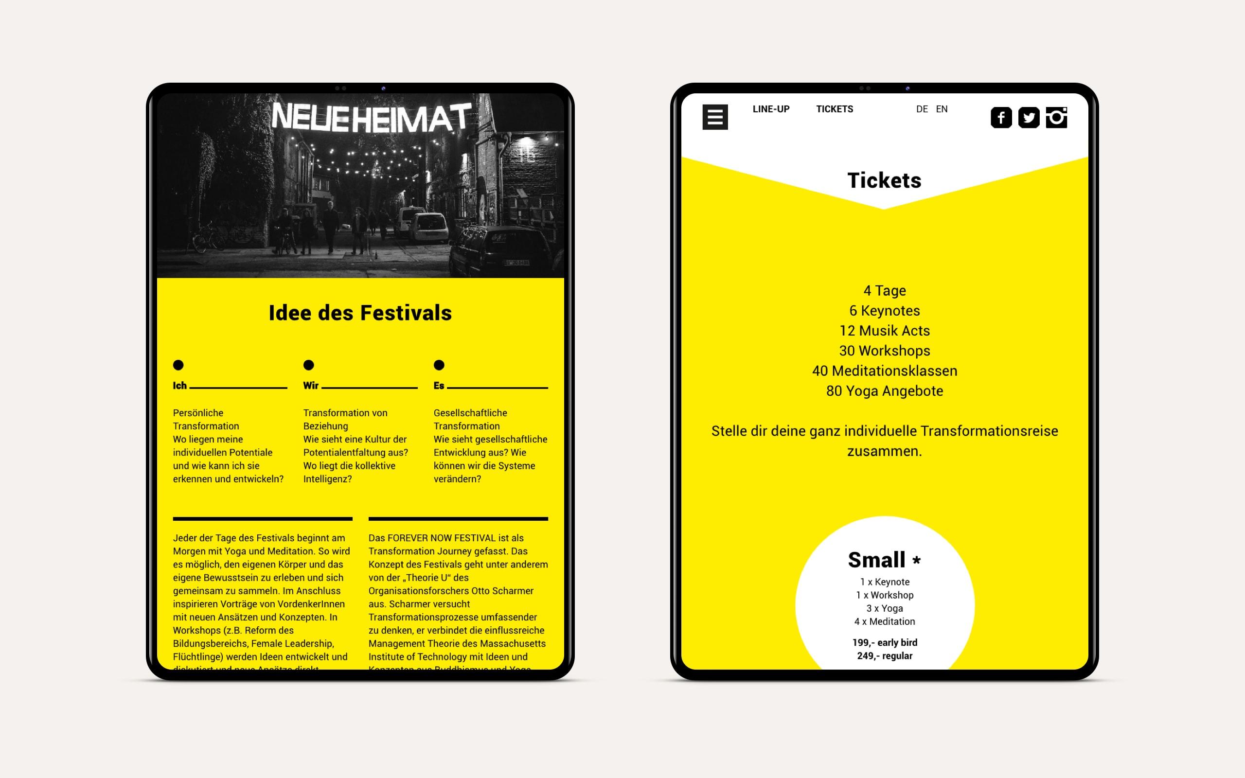 Website Booking [tablet]