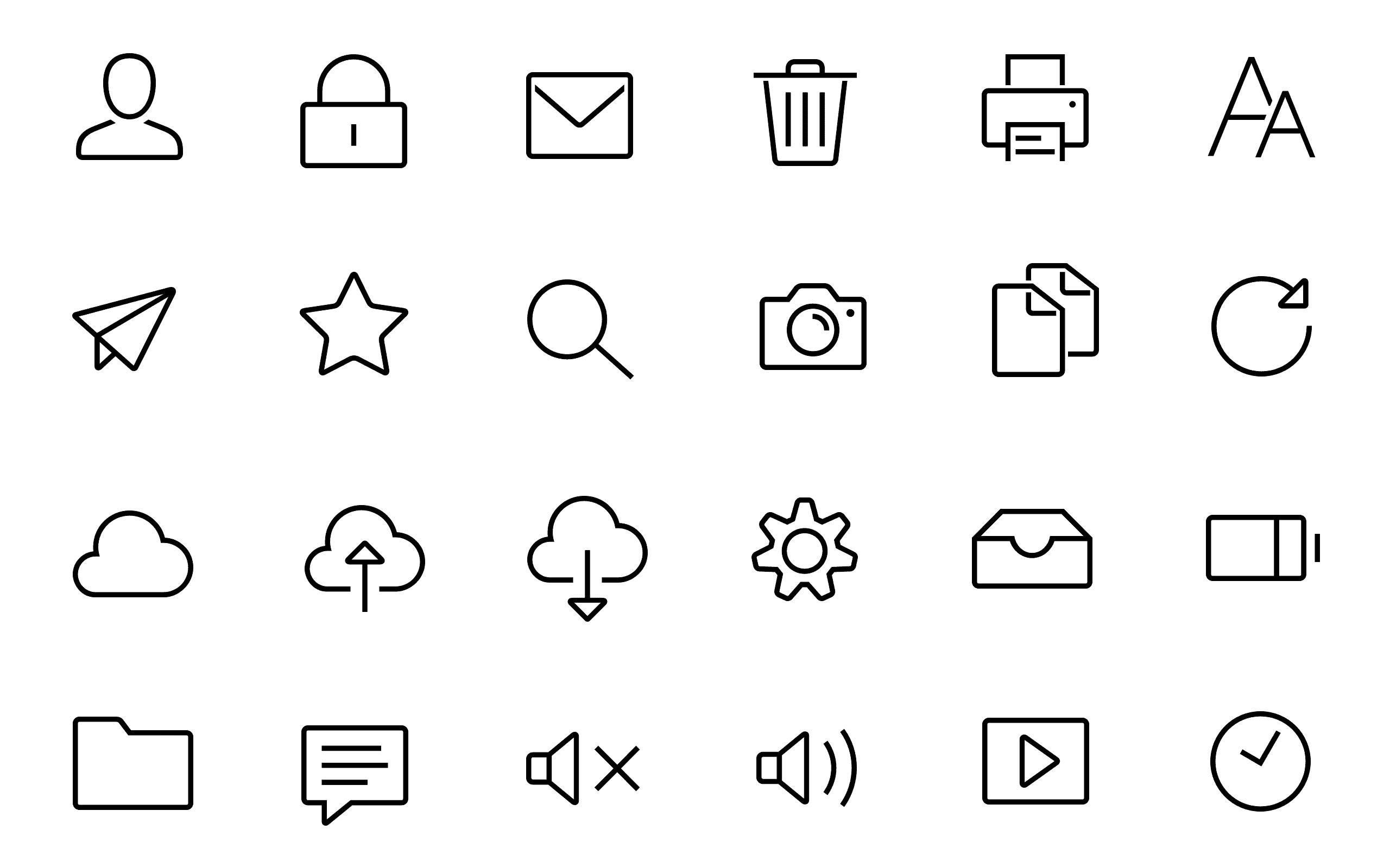 Welt N24 - Icon System Basic