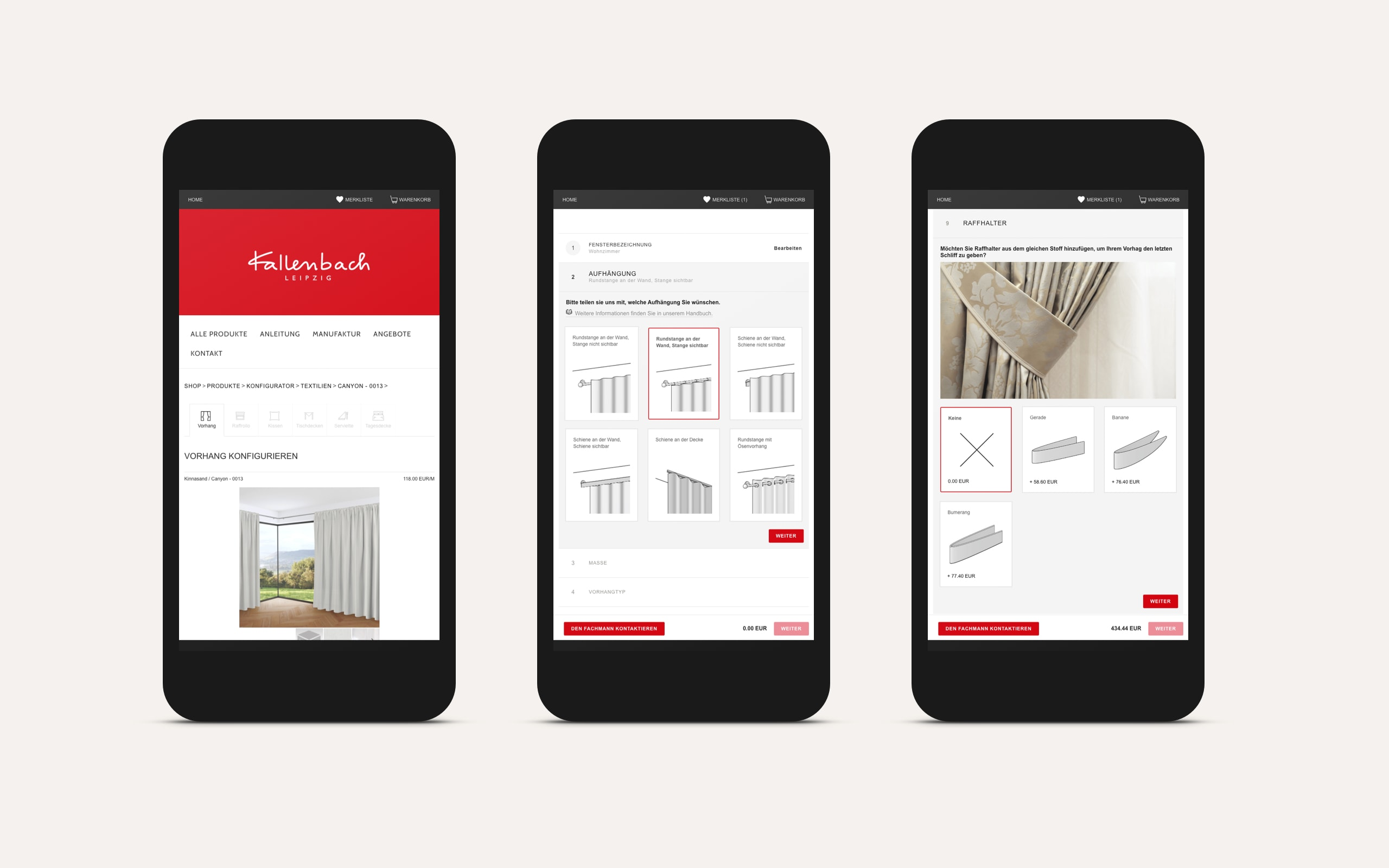 Architonic – Shop Modul / Mobil