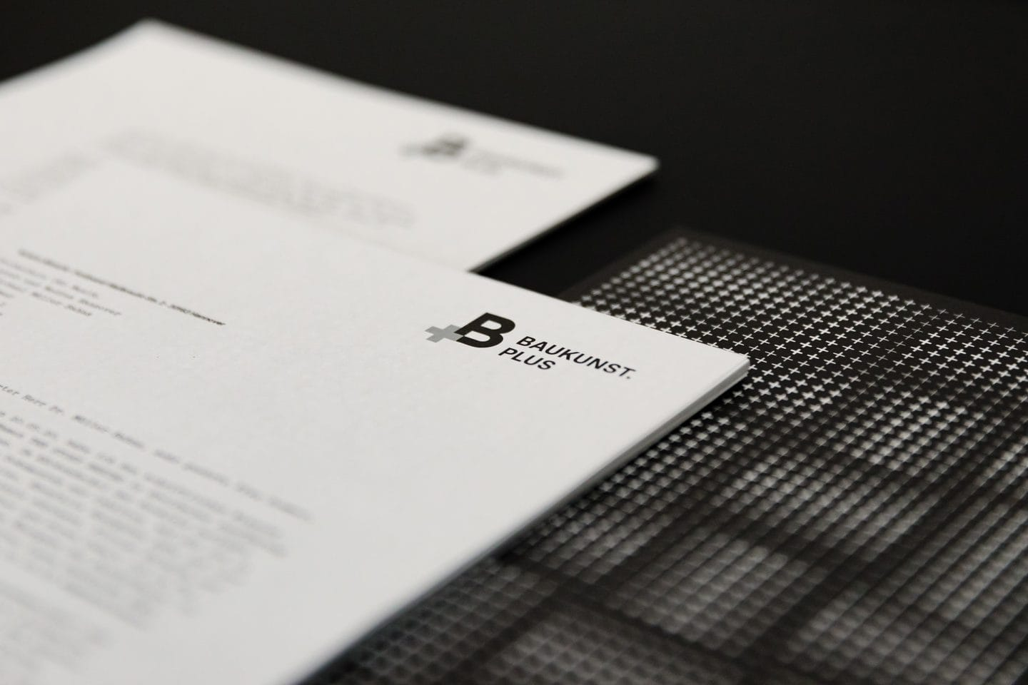 Baukunst Plus Corporate Identity